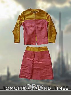Disney Tomorrowland Movie Original Production Used Wardrobe Skirt Costume Screen