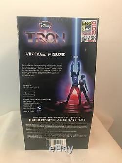 Disney Tron Vintage Figure SDCC Comic Con Exclusive 2010 RARE Arcade Spin Master