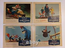 Disney lobby cards Song of the south 1956- Set of 8