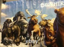Disney's Brother Bear 2 Sided Vinyl Movie Banner HUGE! 119x49 Inches Poster G5