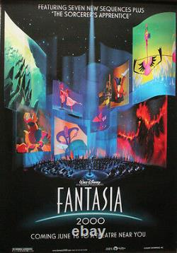 Disney's Fantasia 2000 Original Us Advance One Sheet Poster