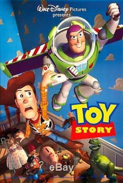 Disney's Pixar TOY STORY Original 1995 DS 2 Sided 27x40 Movie Poster Tom Hanks