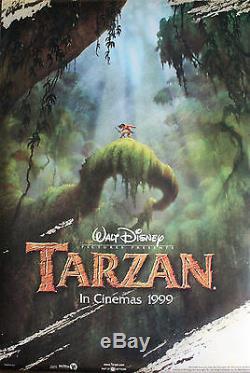 Disney's Tarzan Original Us Advance One Sheet Poster