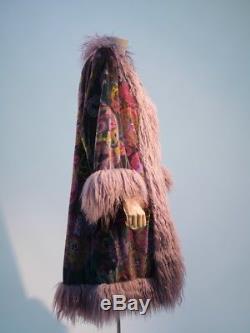 Disney's The Country Bears Screen Worn Costume / Velvet Coat with Mongolian Fur