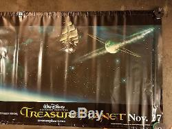 Disney's Treasure Planet Movie Theater Lobby Promo Vinyl Banner (4' x 10')