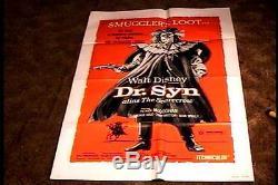 Dr. Syn Orig Movie Poster 1972 Disney Patrick Mcgoohan Scarecrow
