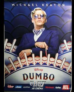 Dumbo full set of 6 Movie Poster 4x6 ft D/S Disney Bus Shelter Poster Tim Burton