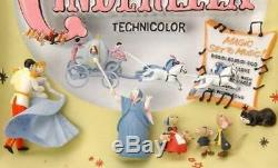 ESAR1968 Disney's Cinderella Sculpted 3D Movie Poster L/E by Code 3 Collectibles