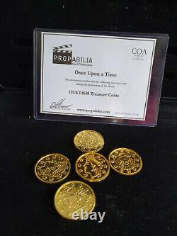 Extremely Rare! Disney Once Upon A Time Original Screen Used Treasure Movie Prop