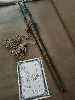 Extremely Rare! Disney Prince of Persia Original Screen Used Dagger Movie Prop