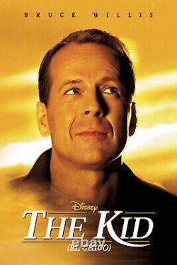 Extremely Rare! Walt Disney Bruce Willis The Kid Original Screen Worn Watch Prop