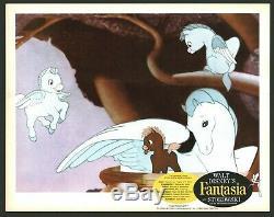 FANTASIA 9 Lobby Card Set (VeryFine+) 1963RR Walt Disney Movie Poster Art 4360