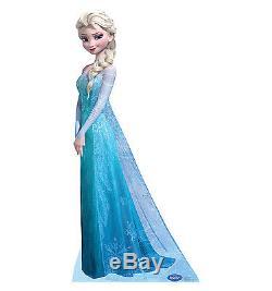 FROZEN 4-PC SET Disney Anna Elsa Kristoff Olaf CARDBOARD CUTOUT Standee Standups