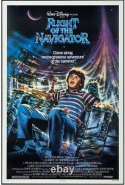 Flight of the Navigator Original Movie Poster 1989 Disney Hollywood Posters
