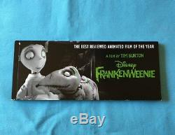 For Your Consideration A Film By Tim Burton Disney Frankenweenie