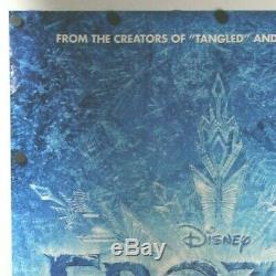 Frozen 2013 Disney Double Sided Original Movie Poster 27 x 40