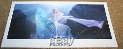 Frozen II Disney 2019 Elsa Stamped Commemorative Lithograph Promo Promotional