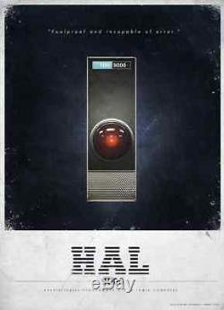HAL 9000 Hand Made in the Great U. S. Of A. ROLEX Disney Star Wars Quality. THANKS