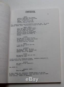HERCULES 1997 Disney Movie Script Screenplay Early Undated Draft