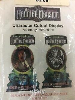 Haunted Mansion Standee Eddie Murphy Disney Movie Advertising NIP