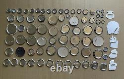 Huge Lot of 370+ Movie Promo Pins Pinback Metal Button Disney Star Wars Batman