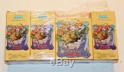 Japanese Disney RETURN TO OZ Toy Figures 1985 Complete set of 4 Mint