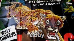 Jungle Cat 6sh movie poster DISNEY James Algar WINSTON HIBLER Ub Iwerks 1959