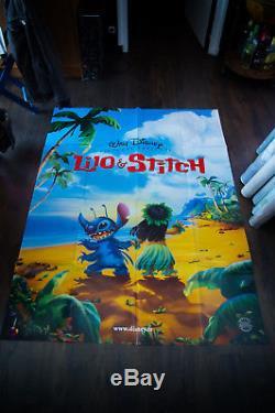 LILO AND STITCH Walt Disney 4x6 ft French Grande Movie Poster 2002