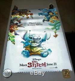 LILO and STITCH 3D Lenticular Original Movie Poster 27x40 Disney