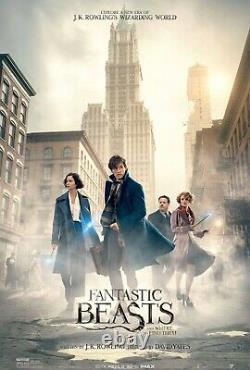 LOT OF 8 MIXED DISNEY & FANTASTIC BEASTS DS 2 Sided 27x40 Movie Posters