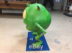 Life Size Disney Pixar Monsters Inc Mike Wazowski Full Size Statue