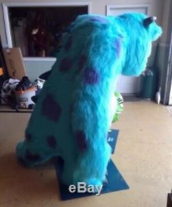 Life Size Disney Pixar Monsters Inc Sulley Mike and Boo Full Size Props Statues