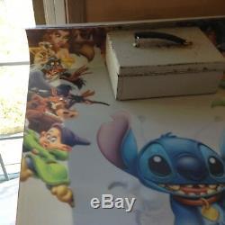 Lilo and Stitch 3D Lenticular Movie Poster 27x40 Disney, Rare hard plastic