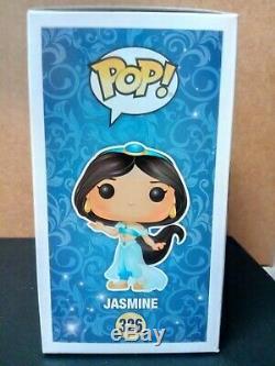 Linda Larkin Signed Disney Jasmine Funko Pop #326 Princess Jasmine PSA-AF24146