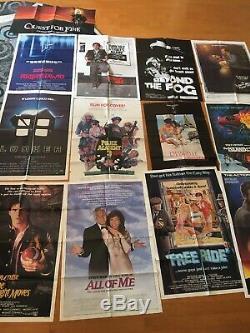 Lot 13 Original One Sheet Movie Posters, Horror, Sci-fi, Drama, Action, Disney