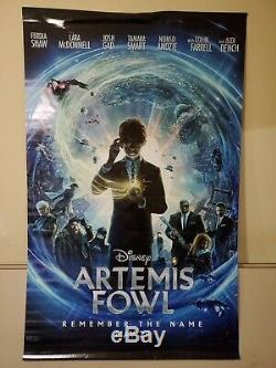 Marvel Black WidowithDisney Artemis Fowl Double Sided Vinyl Movie Banner 8x5 ft