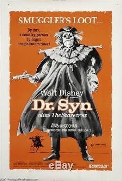 Marx Johnny West Custom Disney Dr. Syn, Alias The Scarecrow Glow Figure