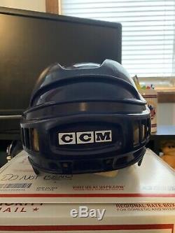 Mighty Ducks Screen Used Helmet Lester Averman Movie Prop LOA Disney NHL