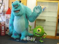 Mike & Sully Life Size Monsters Inc. Statues Toy Display Resteraunt Decor Large