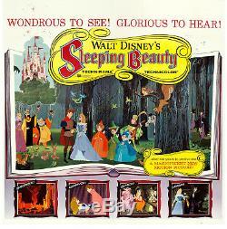 Movie Poster Sleeping Beauty 1959 Six Sheet 83x84 VF+ 8.5 Walt Disney
