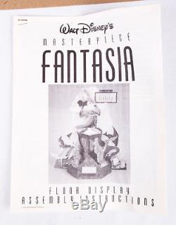 NEW Disney Fantasia Standee, Large Vintage Floor Display Promo, Never Assembled
