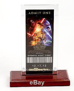 NEW Walt Disney World Star Wars The Force Awakens Openinig Night Event Ticket