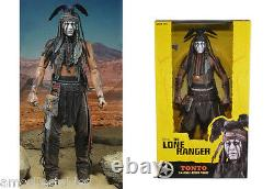 Neca Disney The Lone Ranger Tonto 1/4 Scale Action Figure NewithBoxed