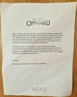 Onward Disney Pixar Lithograph Limited Edition Promo Signed Oscar Nom
