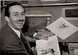 Orig 40's WALT DISNEY Candid. BAMBI Animation DBW Portrait DISNEY STUDIO'S