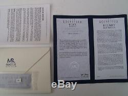 Original DISNEY Rocketeer Helmet from MASTER REPLICA with Certificates/Stand/Box
