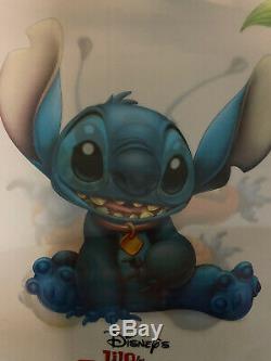 Original Lilo And Stitch Lenticular Disney Movie Poster