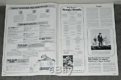 Original Song of the South Pressbook Disney SPLASH MOUNTAIN Brer Rabbit R1972