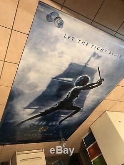Peter Pan Disney Movie Cinema Vinyl Banner 2003