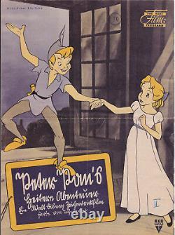 Peter Pan (USA, 1953) Das neue Film-Programm in Sütterlin-Schrift! Walt Disney